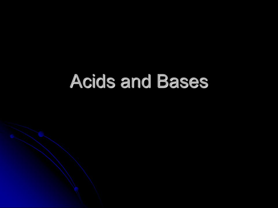 Acids Acids are substances that release hydrogen ions, H +, in solution Acids are substances that release hydrogen ions, H +, in solution Acids can be recognized because their chemical formulas start with the symbol for hydrogen, H Acids can be recognized because their chemical formulas start with the symbol for hydrogen, H HCl – hydrochloric acid HCl – hydrochloric acid H 2 SO 4 – sulfuric acid H 2 SO 4 – sulfuric acid HNO 3 – nitric acid HNO 3 – nitric acid