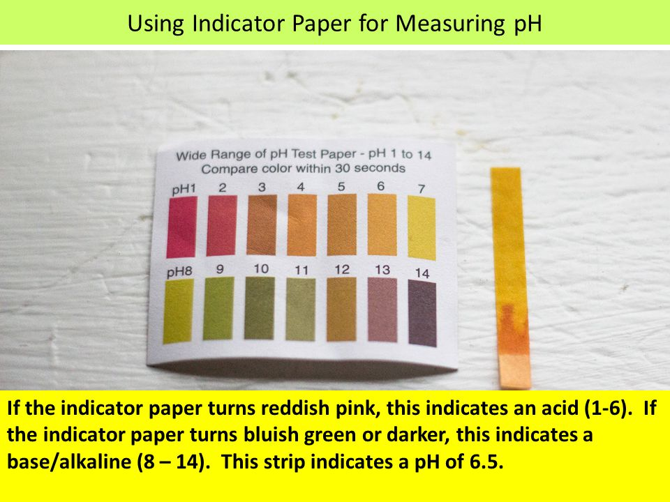 Water pH The pH level in your drinking water reflects how acidic it is.