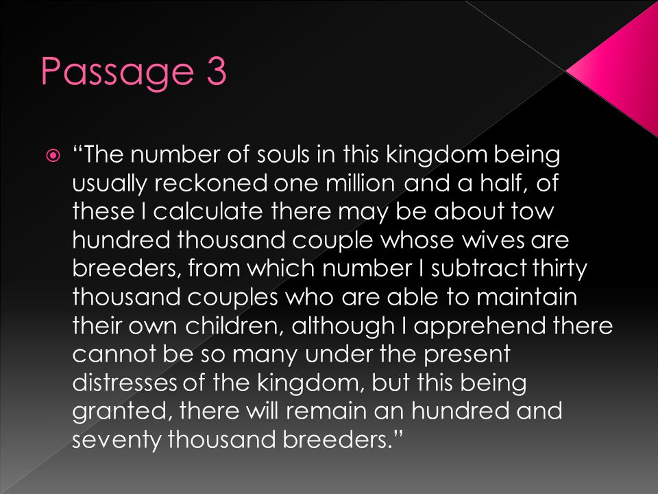 """ """"The number of souls in this kingdom being usually reckoned one million and a half, of these I calculate there may be about tow hundred thousand cou"""