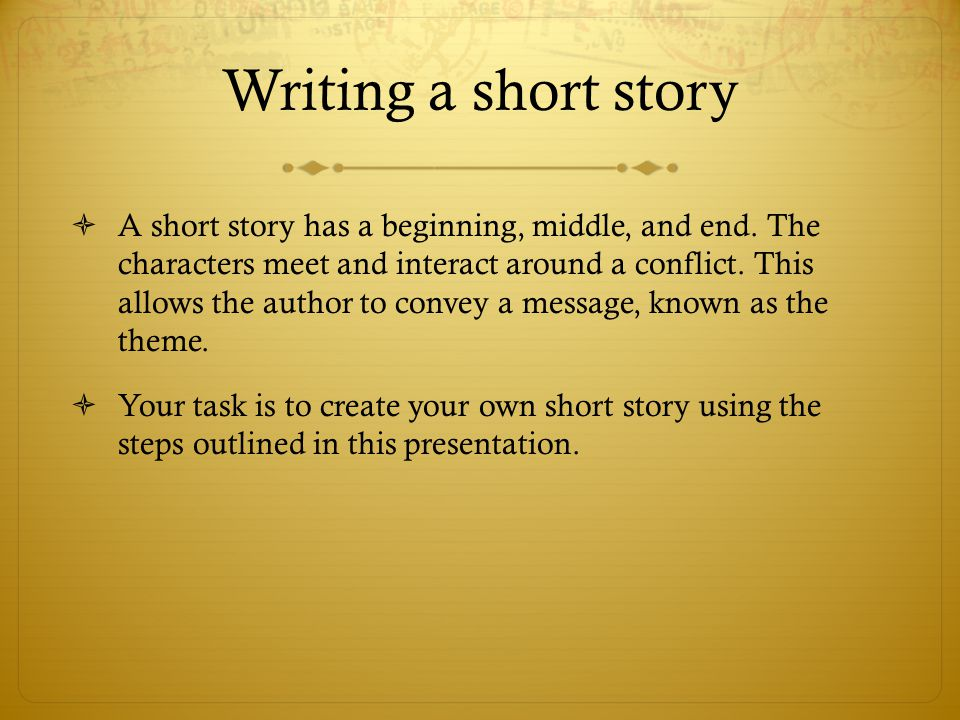 Secret Tips To Writing A Successful Short Story