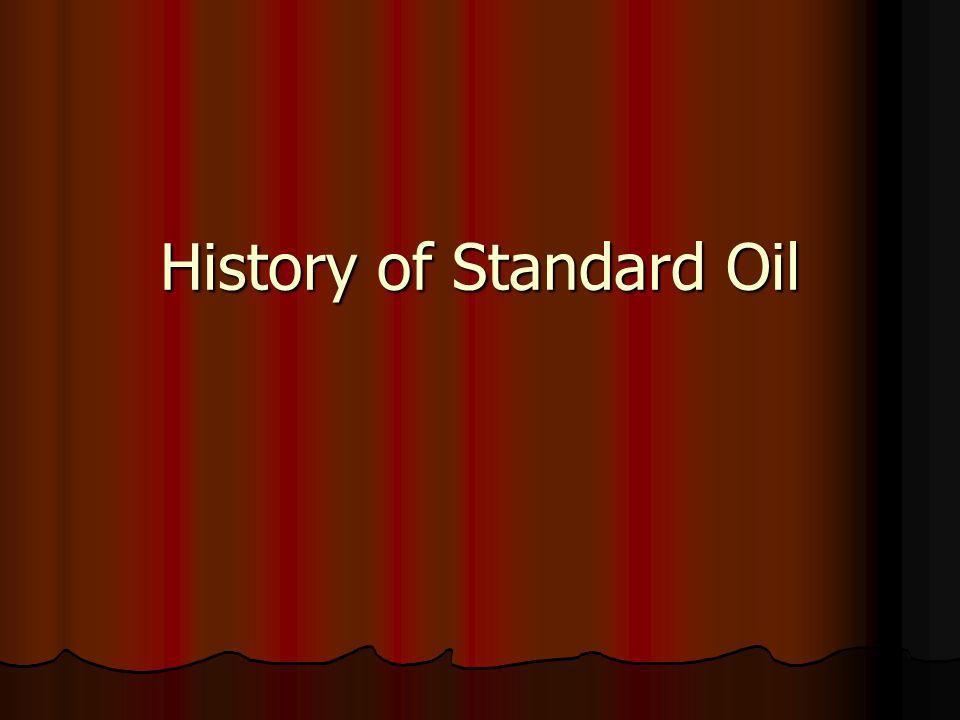 History of Standard Oil