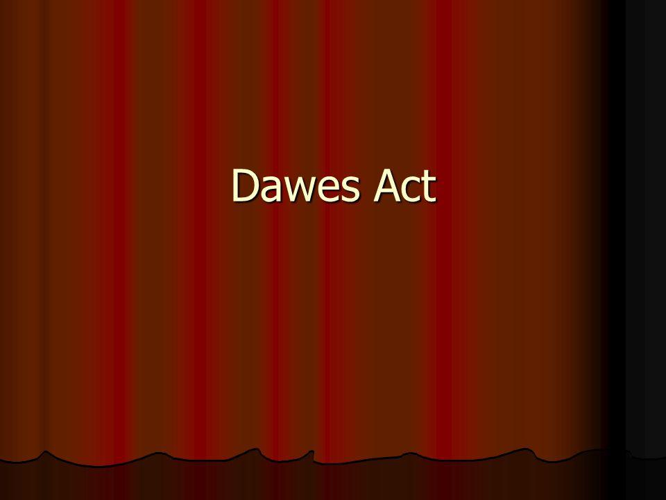 Dawes Act