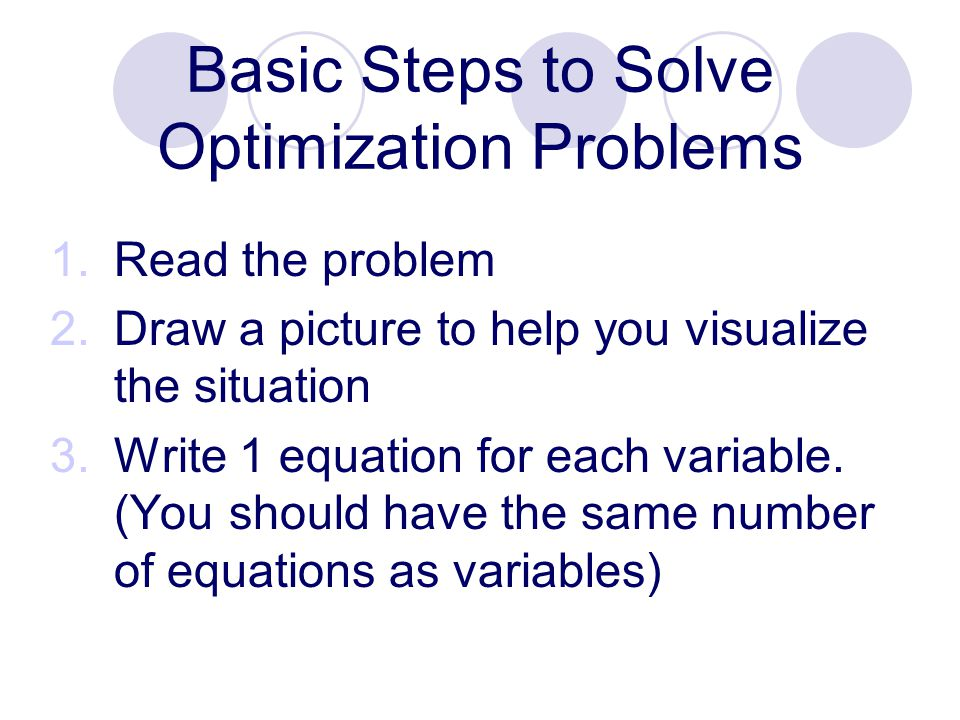 How to solve calculus problems step by step