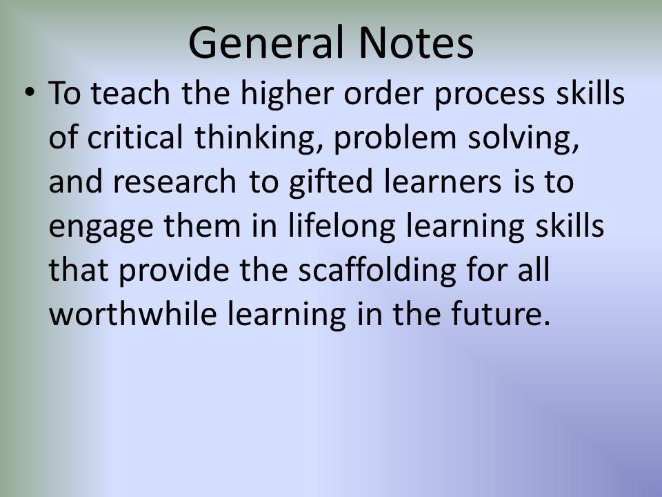 General Notes Cont.