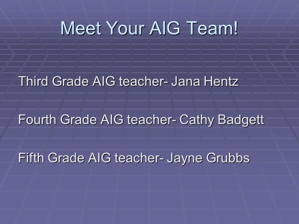 WSFCS AIG Website 1.WSFCS homepage 2. Click Departments 3.