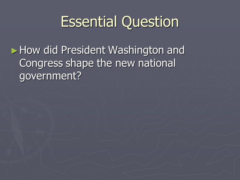 The Jefferson Era ► Essential Question ► How was Thomas Jefferson ' s presidency significant for the country?