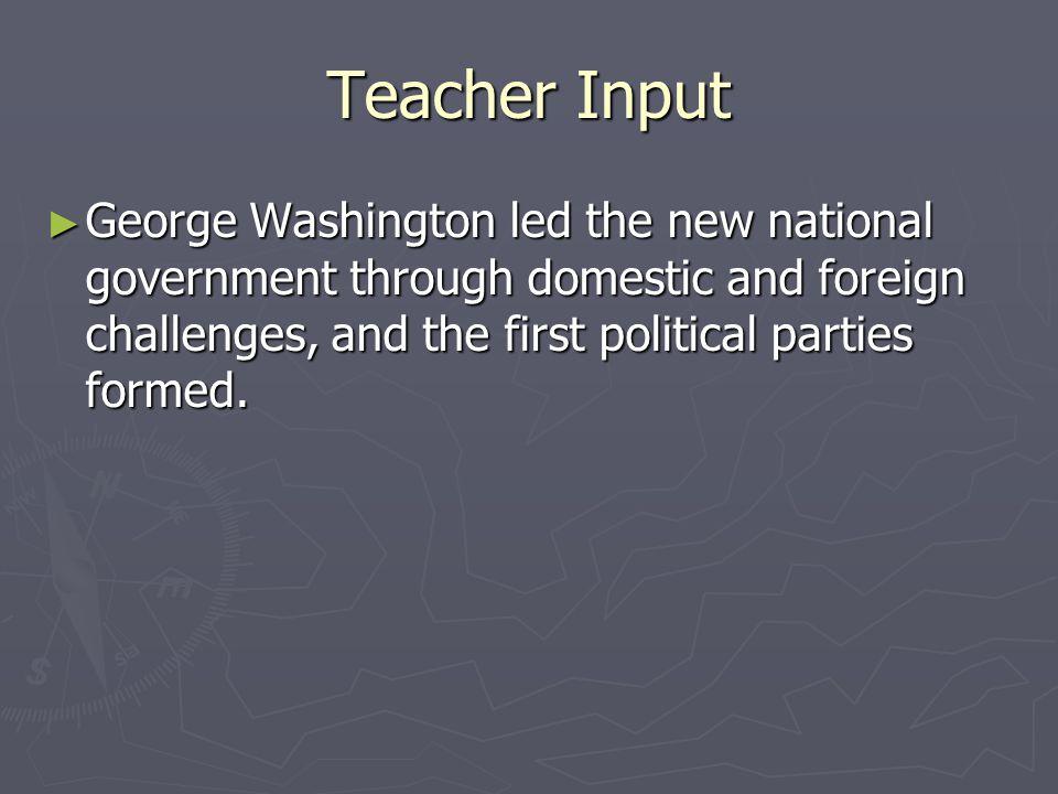 Big Idea ► Thomas Jefferson ' s election began a new era in American government.