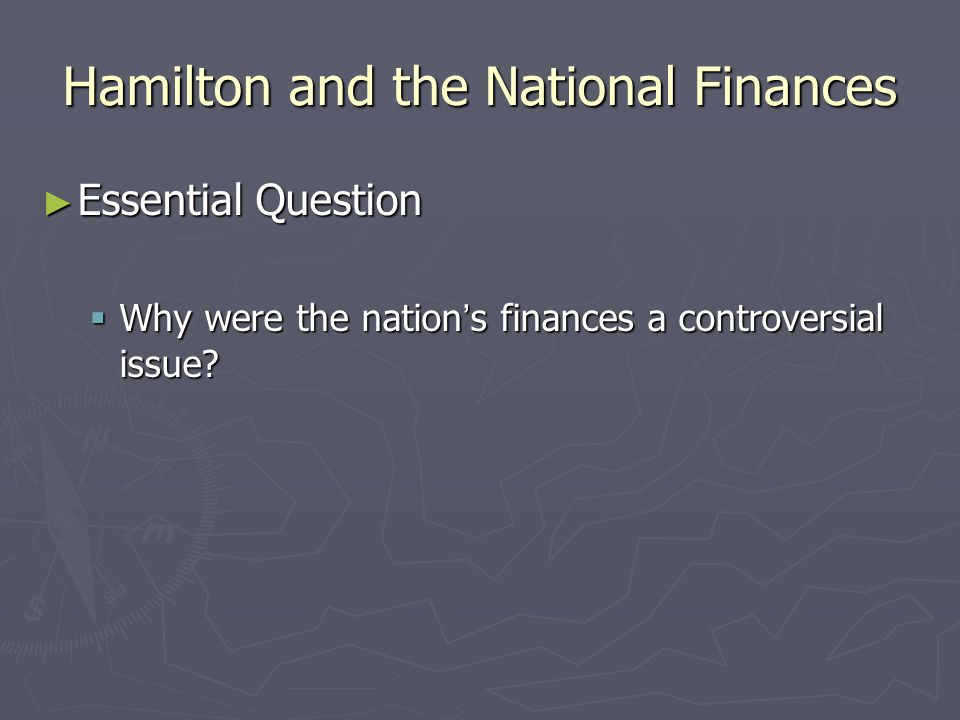 Summary ► What foreign and domestic challenges did the new nation face?