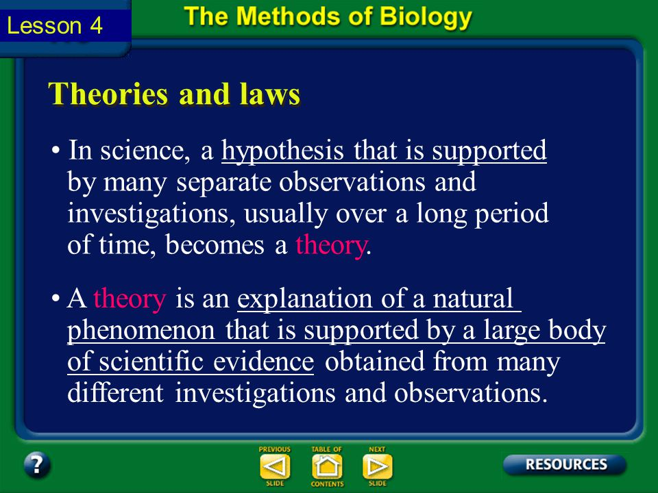 Section 1.2 Summary – pages 11-18 After results of an investigation have been published, other scientists can try to verify the results by repeating t