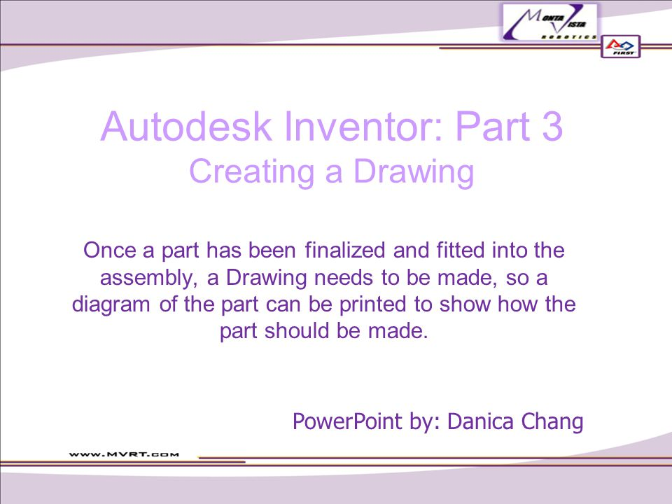Creating a Drawing Press new Open a new Standard.idw, then press OK