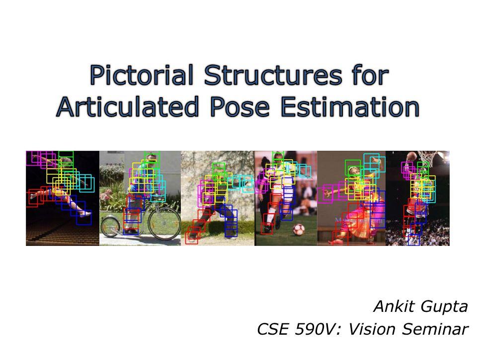 Ankit Gupta CSE 590V: Vision Seminar