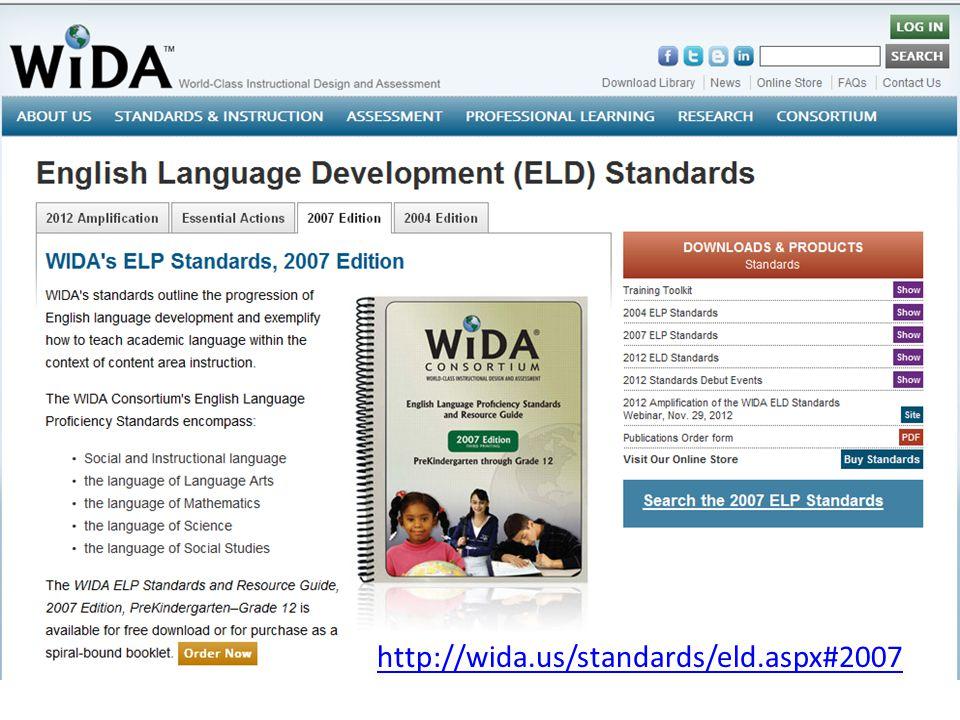 http://wida.us/standards/eld.aspx#2007