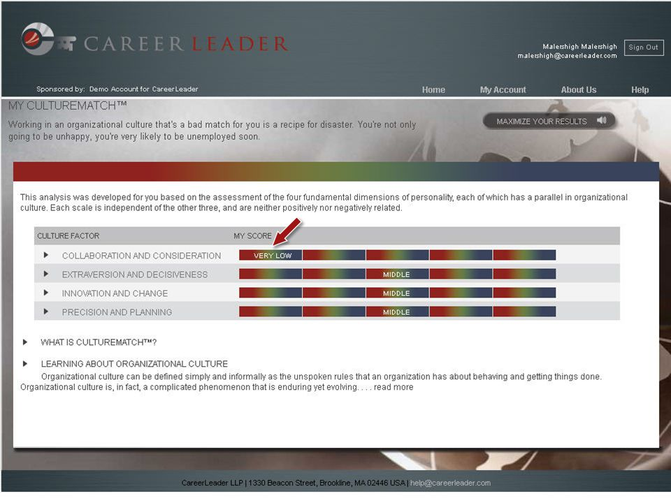copyright 2011 | CareerLeader LLP | 1330 Beacon Street, Brookline, MA 02446 USA 25