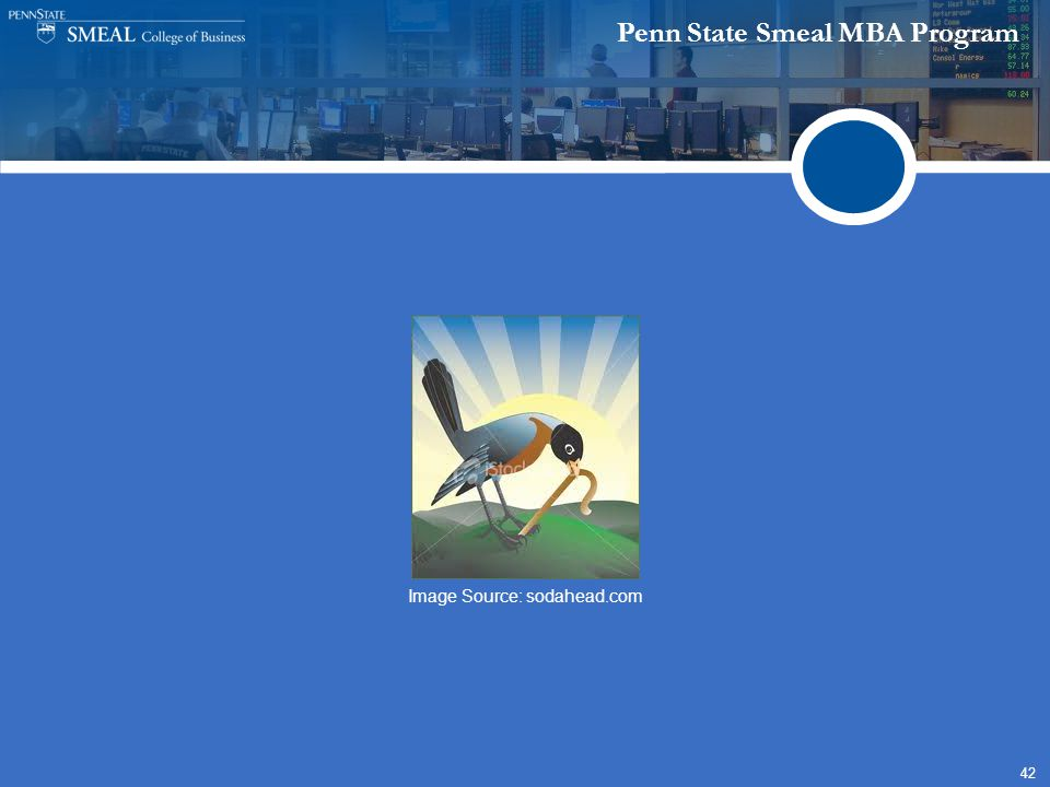 Penn State Smeal MBA Program 42 Image Source: sodahead.com