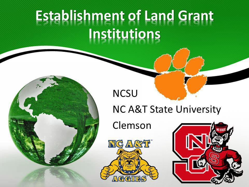 NCSU NC A&T State University Clemson