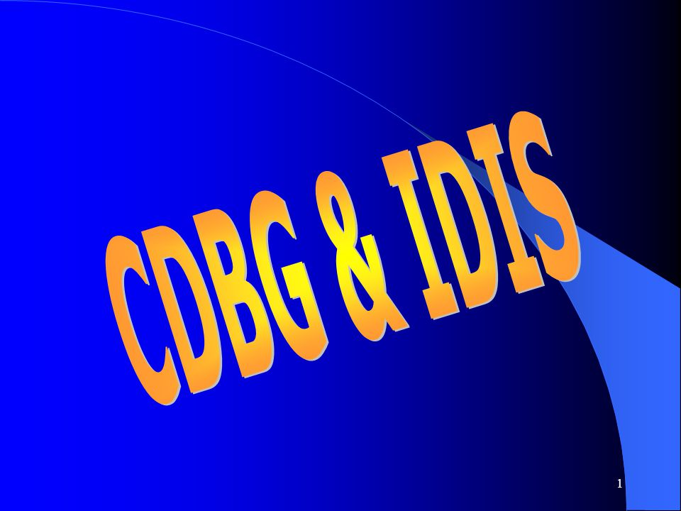 1 CBDOs v. SUBRECIPIENTS Cont. Implications: Implications: – Program income – Written agreement requirements – Uniform administrative requirements, in