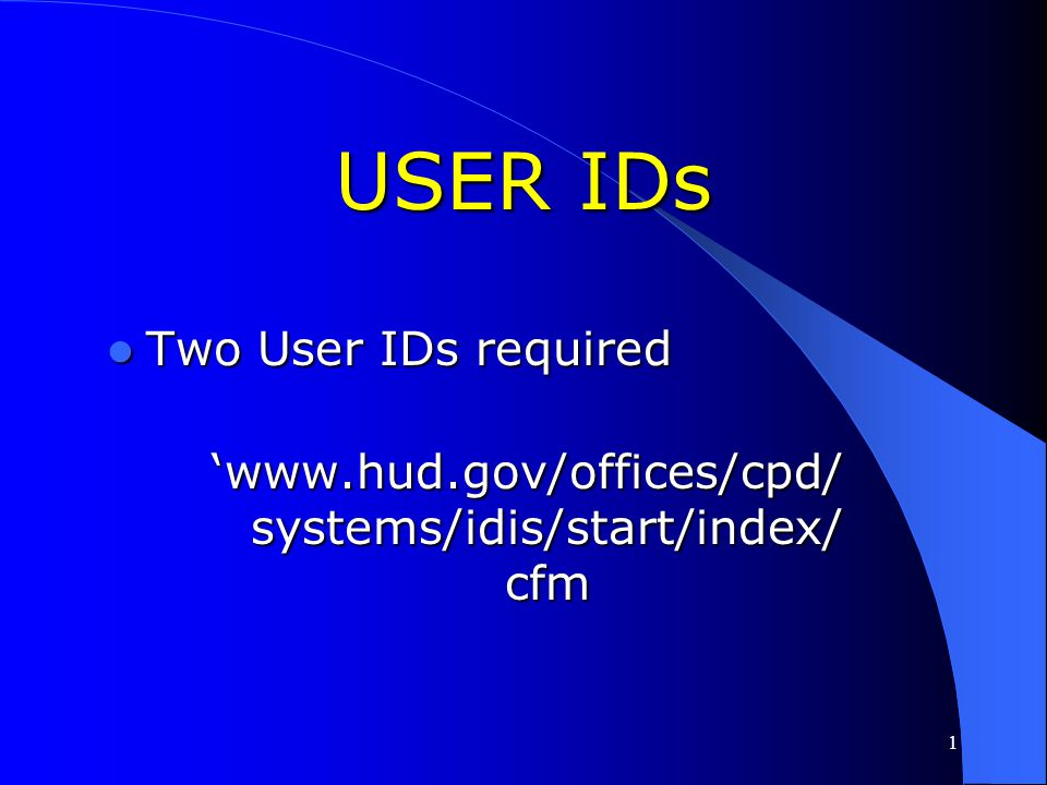 153 'www.hud.gov/offices/cpd/ systems/idis/start/access/ firewall_ports.cfm COMMUNICATING WITH IDIS