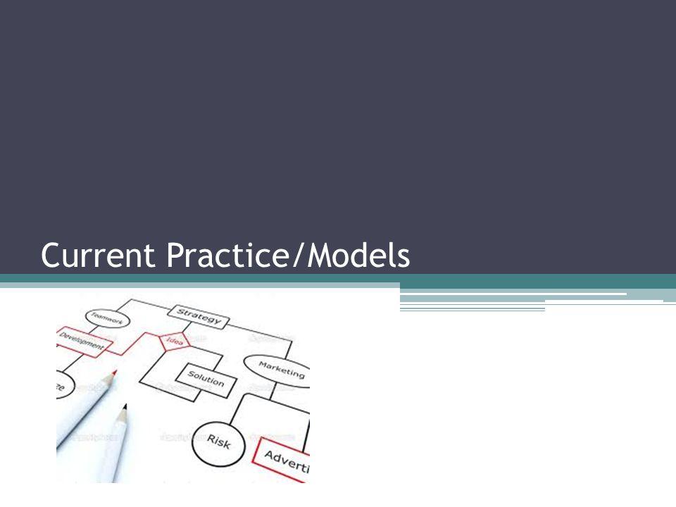 Current Practice/Models