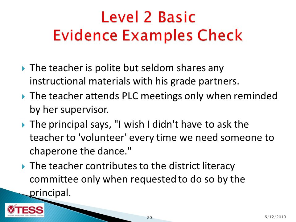 The teacher is polite but seldom shares any instructional materials with his grade partners.