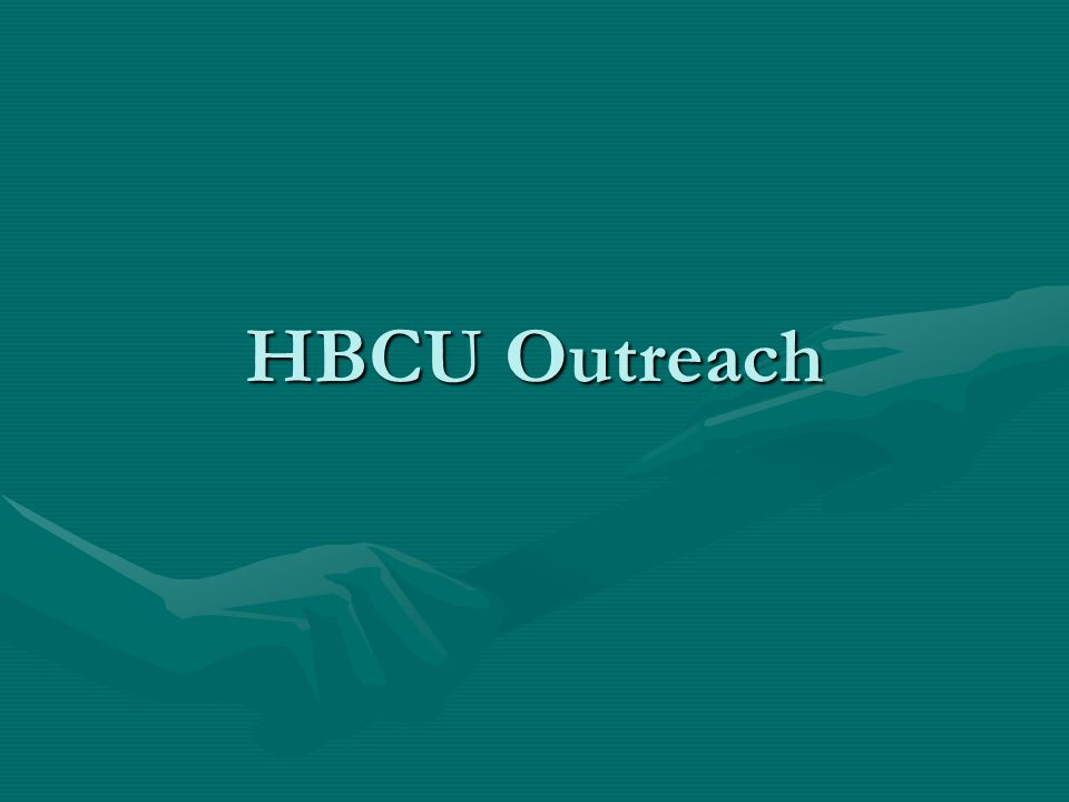 HBCU Outreach