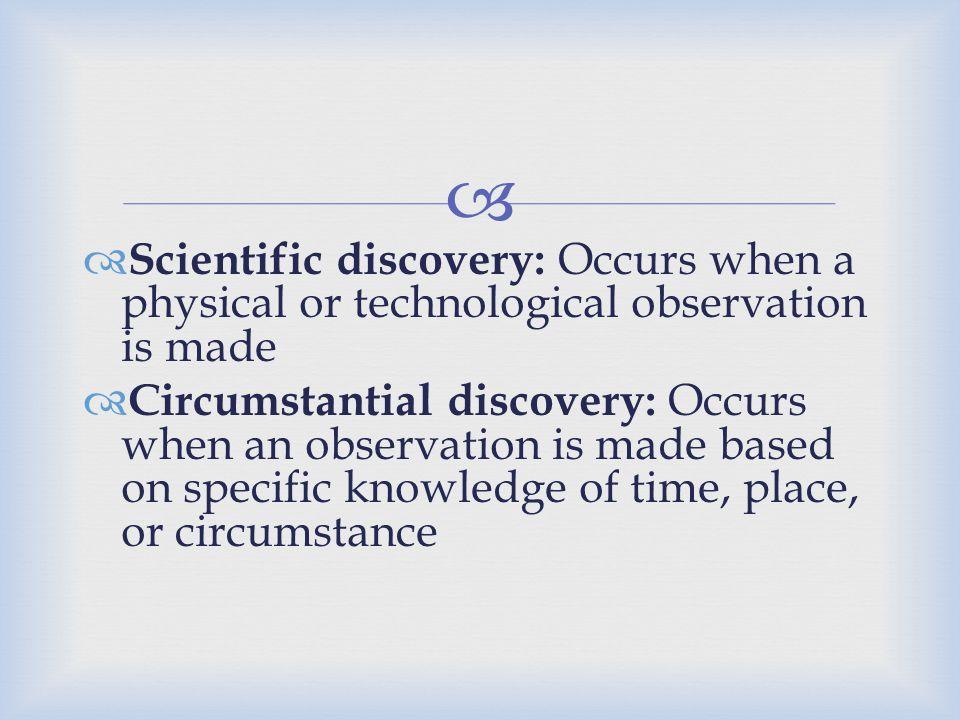  Describe areas of entrepreneurial discovery.