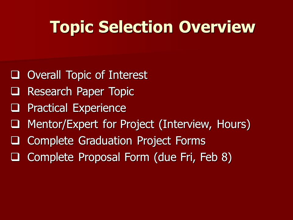 what is a formal proposal for a research paper