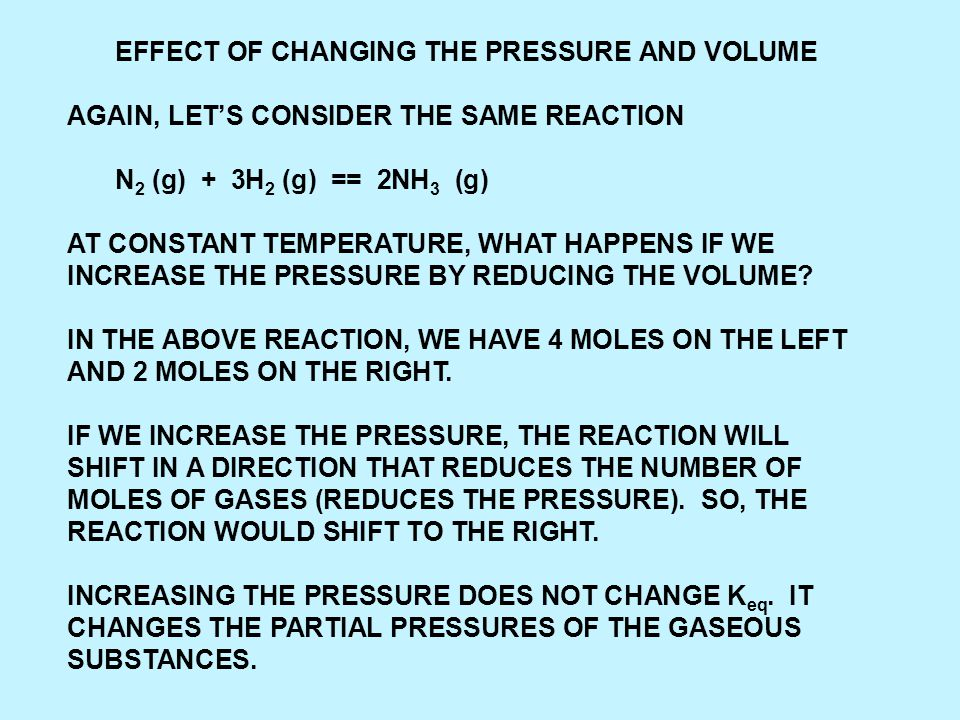 ANOTHER WAY OF CONSIDERING DIRECTIONS OF REACTION IS TO TAKE THE ACTUAL CONCENTRATIONS AND CALCULATE A REACTION QUOTIENT AND COMPARE THAT TO THE EQUILIBRIUM CONSTANT.