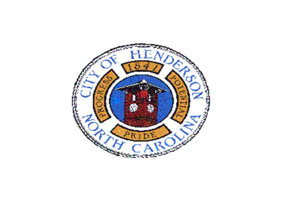 CITY OF HENDERSON PUBLIC WORKS DEPARTMENT SANITATION DIVISION