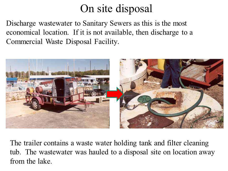 Sanitary sewer discharge locations: Utility Sinks, Clean-outs, inside floor drains, commodes, sinks, and Clean-Out Stubs which are connected to the Sa