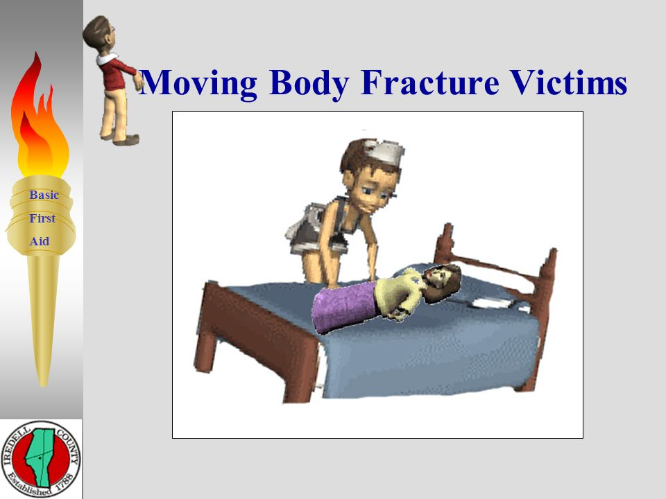 Basic First Aid Fractures to Body – Neck - Back 13