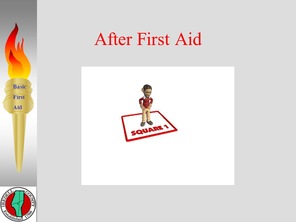 Basic First Aid Do only what you have been trained to do. 7