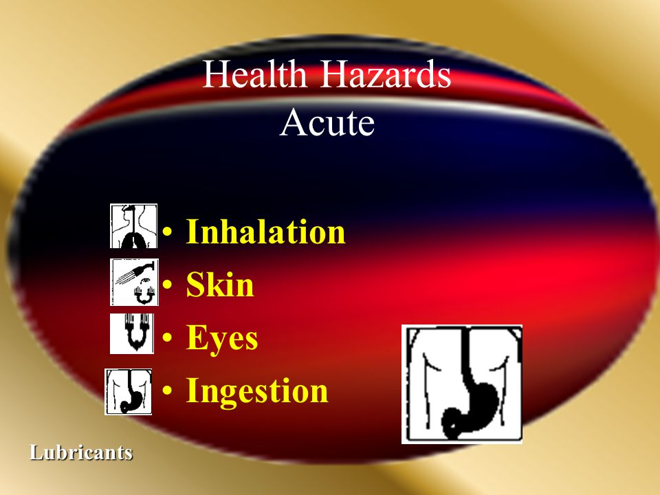 Safety Hazards Combustible Lubricants 5