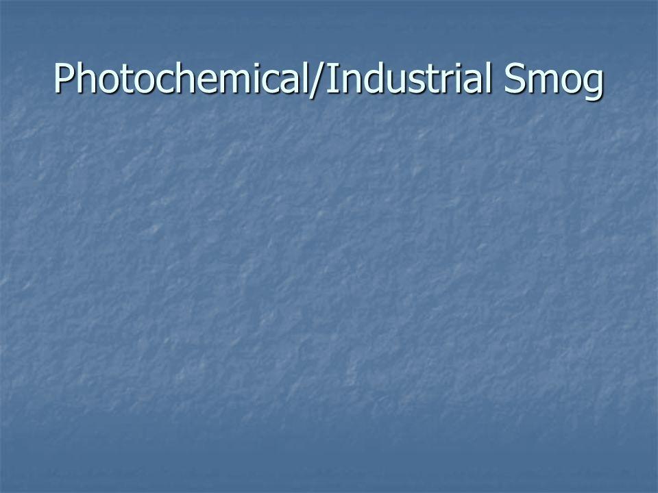 Photochemical Smog Yellowish- Brown/NOx fig.