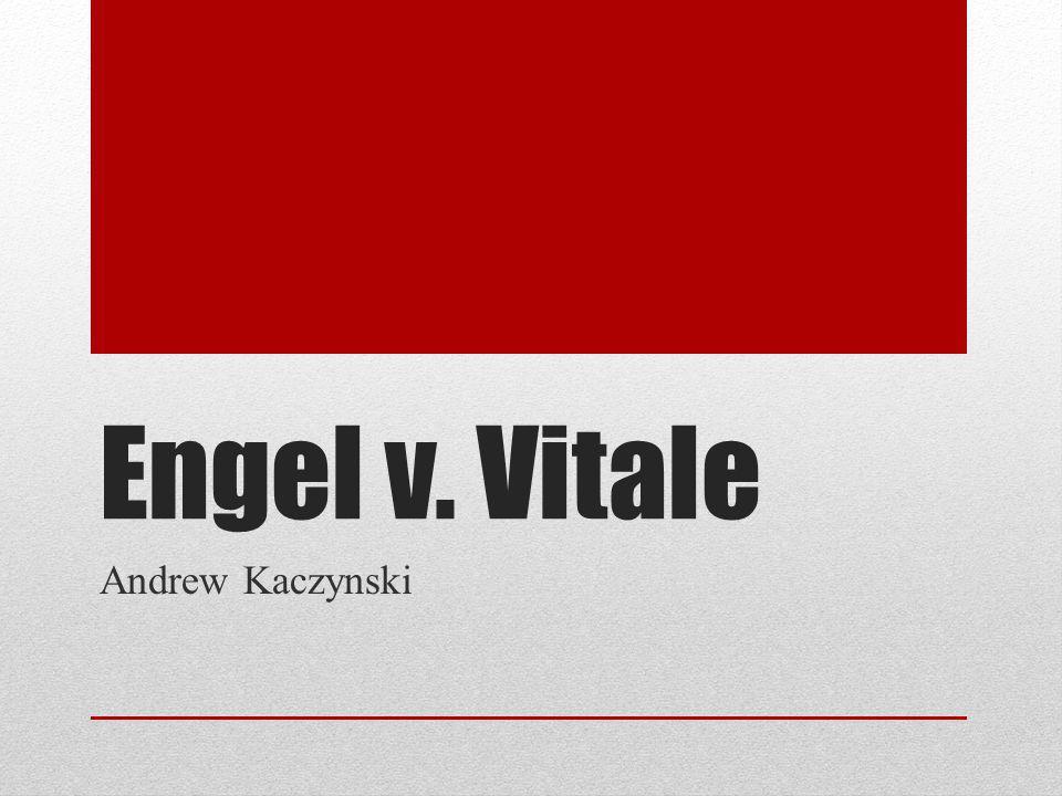 Engel v. Vitale Andrew Kaczynski
