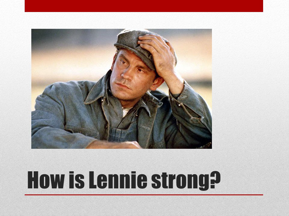 How is George Strong?