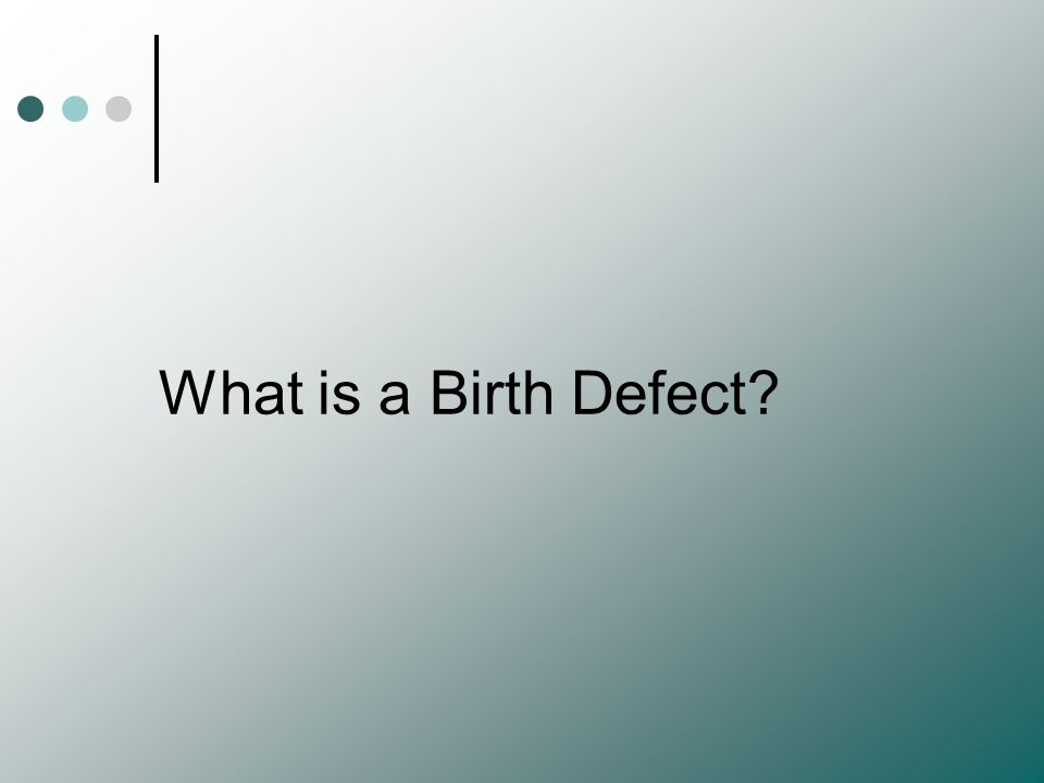 Preventing Birth Defects Avoid…