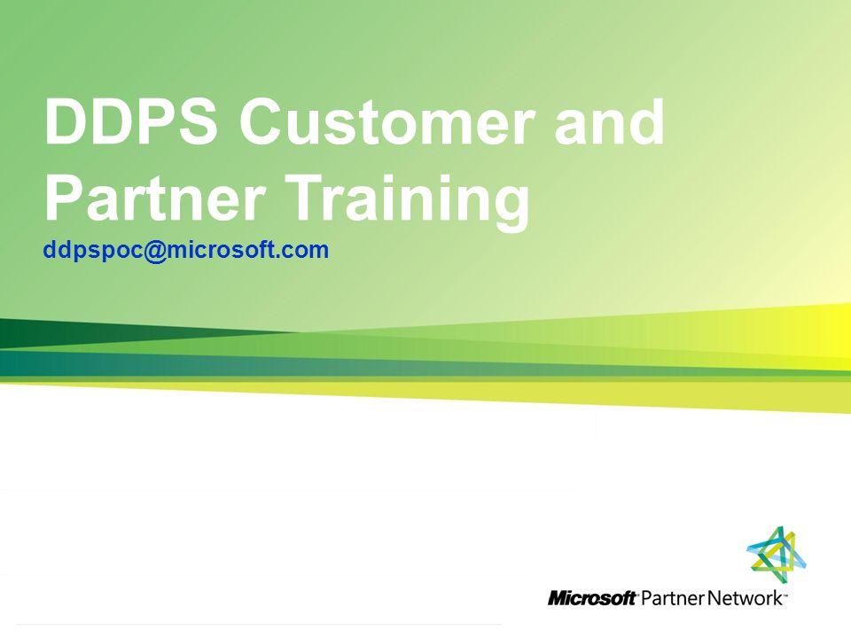 http://channelincentives.microsoft.com Transparency Simplicity Engagement 1 | Channel Incentives Platform DDPS Customer and Partner Training ddpspoc@microsoft.com