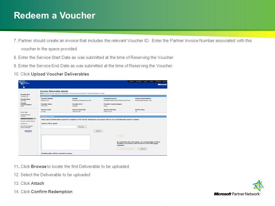 http://channelincentives.microsoft.com Transparency Simplicity Engagement 11 | Channel Incentives Platform Redeem a Voucher 7.