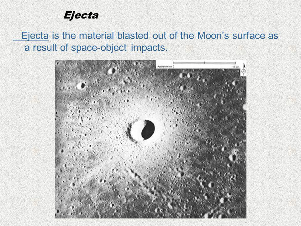 Moon's Features The Moon's surface is very different from the surface of Earth because the Moon has no erosion.