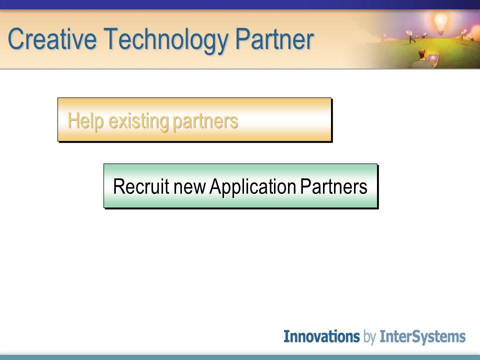 Creative Technology Partner Recruit new Application Partners