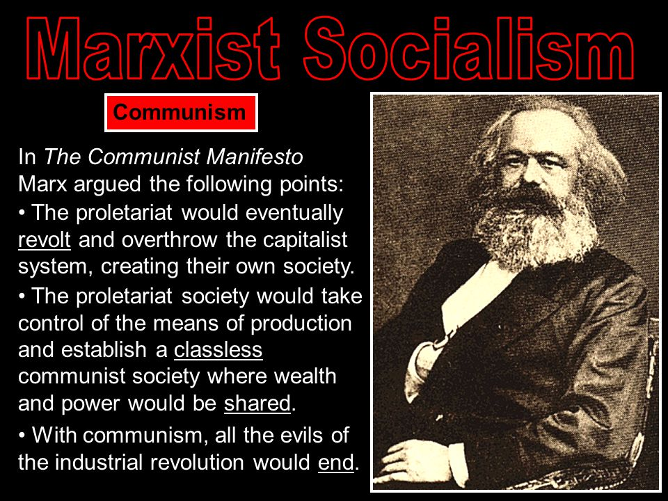 In a Communist society, who owns the means of production?