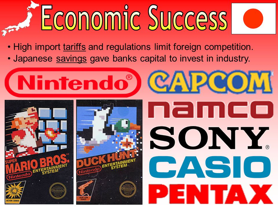 High import tariffs and regulations limit foreign competition.