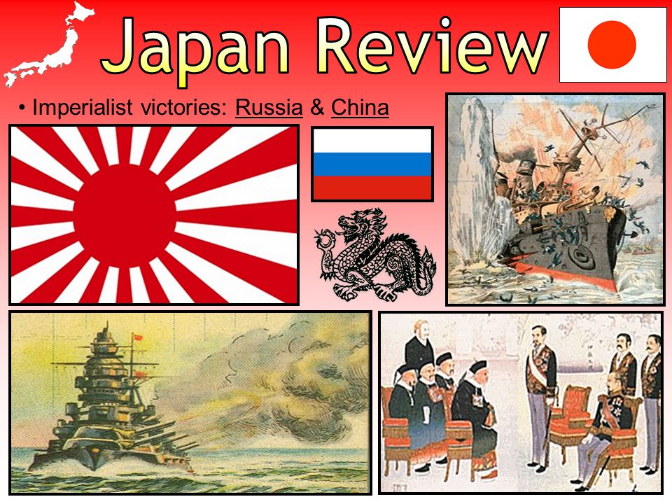 Imperialist victories: Russia & China