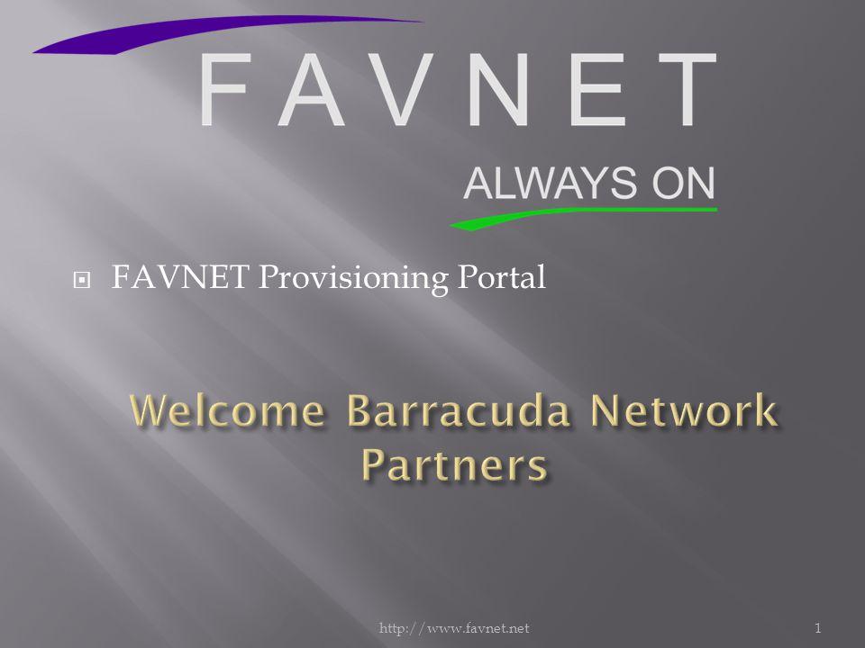 http://www.favnet.net1  FAVNET Provisioning Portal