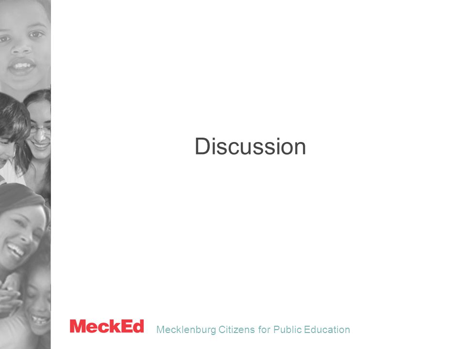 Mecklenburg Citizens for Public Education Discussion