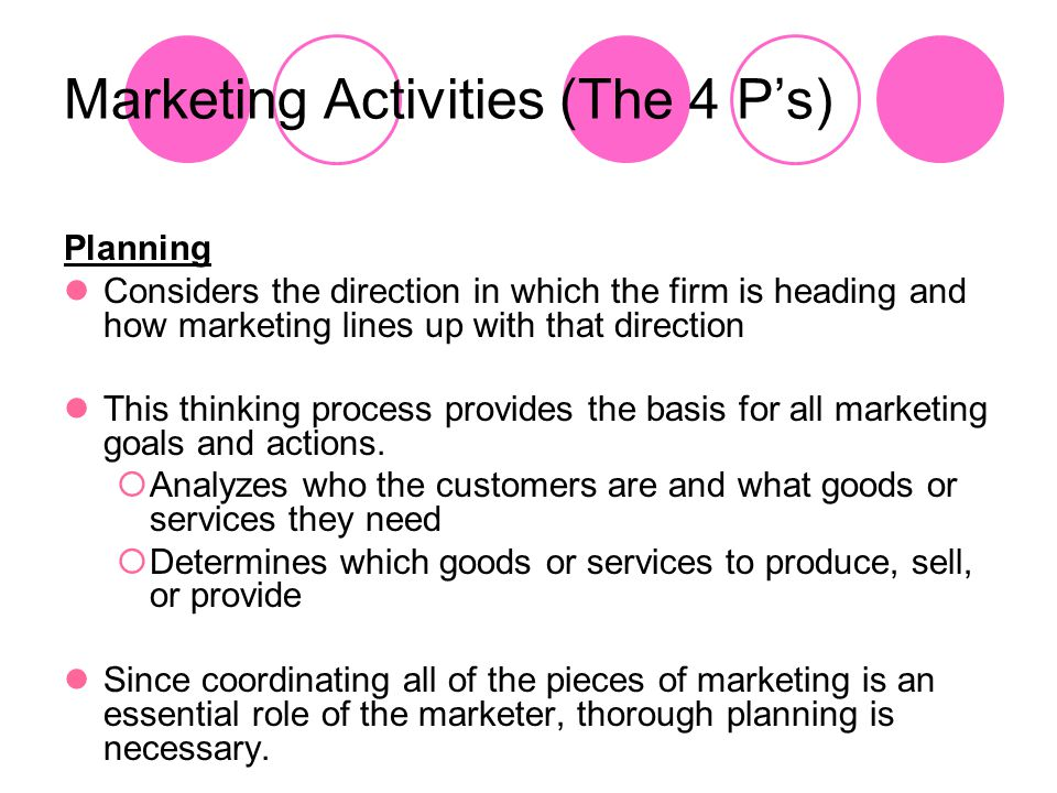 Pricing is important to marketing because Affects how well a product will sell and how much profit the business will make Businesses need to set prices that customers are willing to pay.