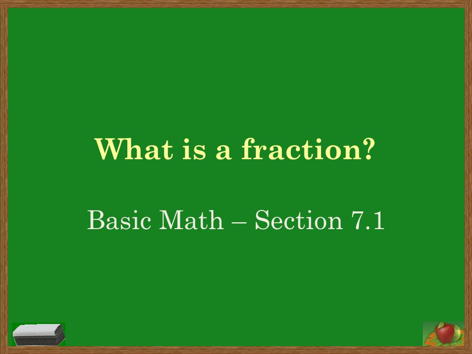 How do I draw a picture to show a fraction.