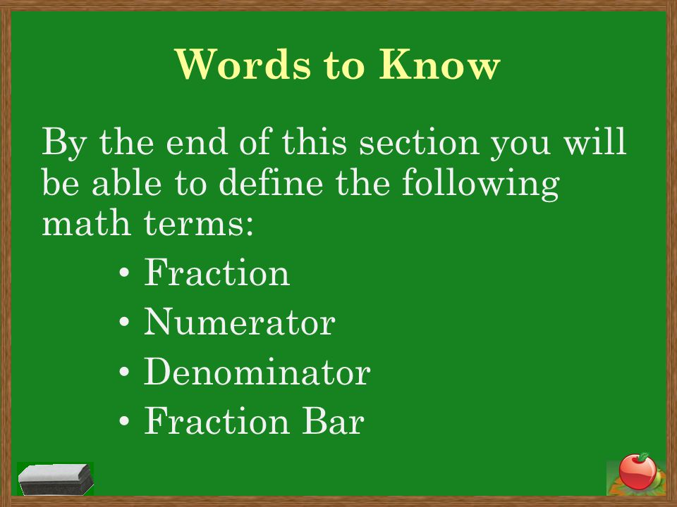 What is a fraction.A fraction is a form of a number that shows part of a whole.
