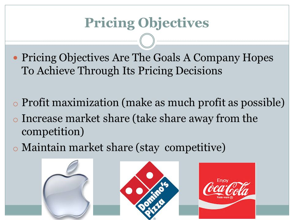 Illegal pricing practices and pricing laws Price Fixing : Collaborating With Other Companies (Competitors) To Set Prices For A Company's Products Predatory Pricing : The Practice Of Selling A Product Or Service At A Very Low Price, Intending To Drive Competitors Out Of The Market Price Discrimination: Charging different prices to similar customers in similar situations to create unfair competition