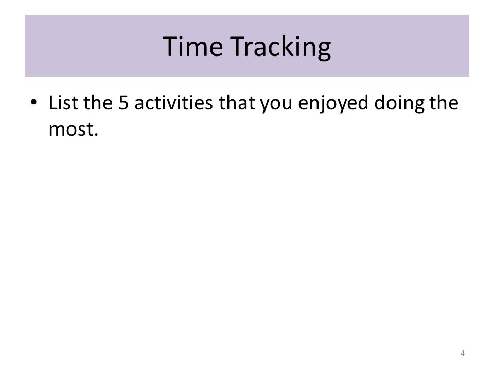 Time Tracking – Pie Chart My Parents 5